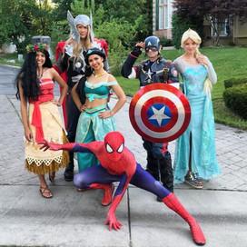 Superheroes and Princesses Utah