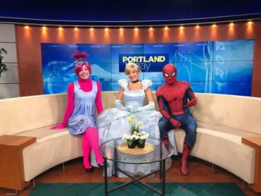 Poppy Cinderella Spider-Man Portland Today