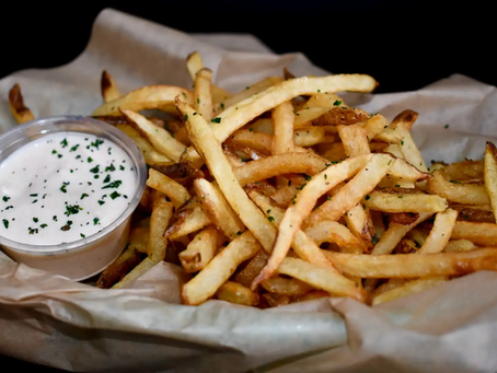 French Fries to die for