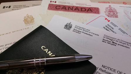 Visa canadiense y documentos de refugio