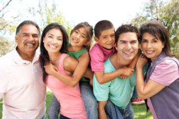 Familia multiracial