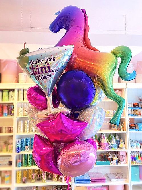 Adult Fun Birthday Balloon Bouquet