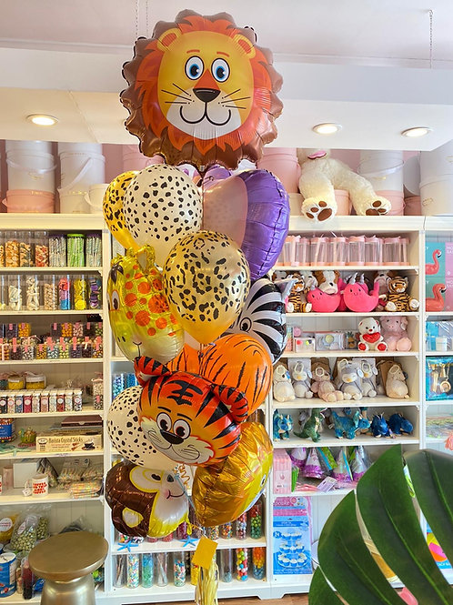 """""""King Of The Jungle""""  Balloon Bouquet"""