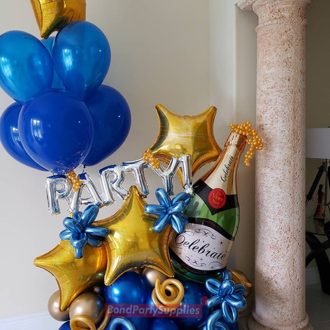 Lets Party Balloon Scultpure