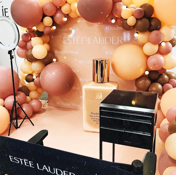 Estee Lauder Balloon Arch