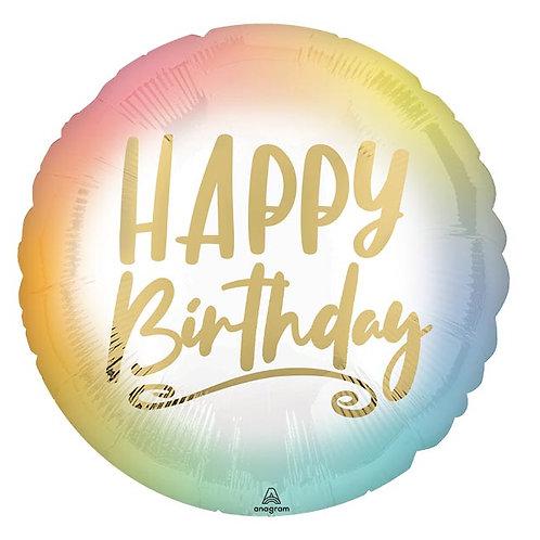 Ombre Birthday