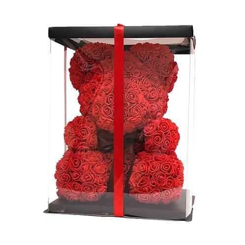 Red Rose Bear (M)