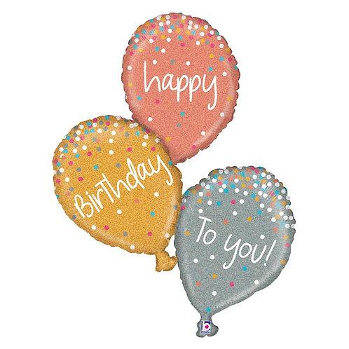 Birthday Balloon Shapes