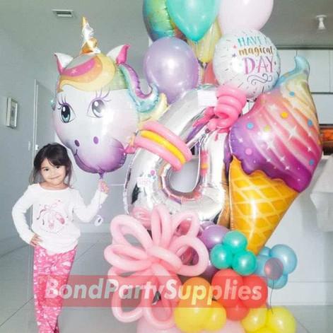 Unicorn Balloon Scultpure