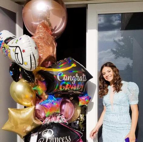 Graduation Balloon Sculpture