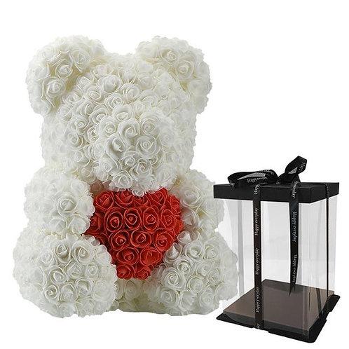 White Rose Bear (M)