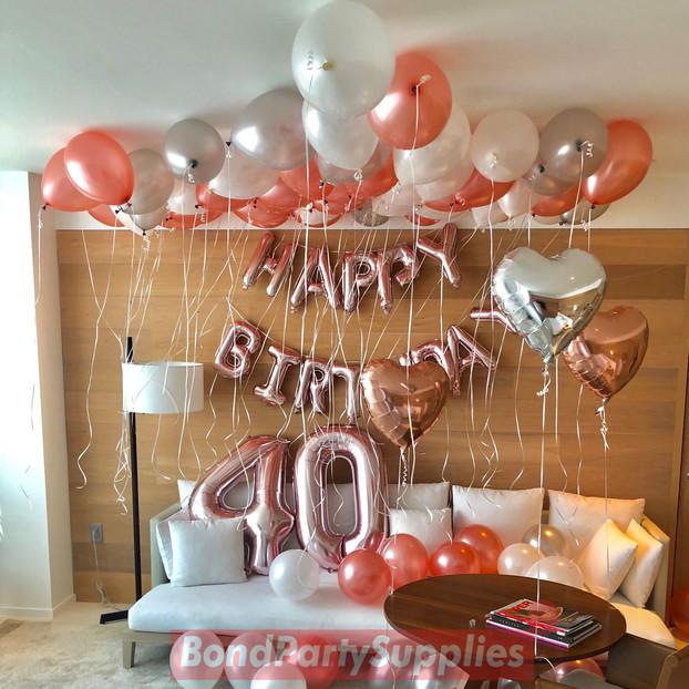 Happy Birthday Balloon Decoration Miami