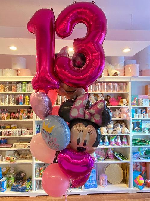 Minnie Mouse Birthday Bouquet