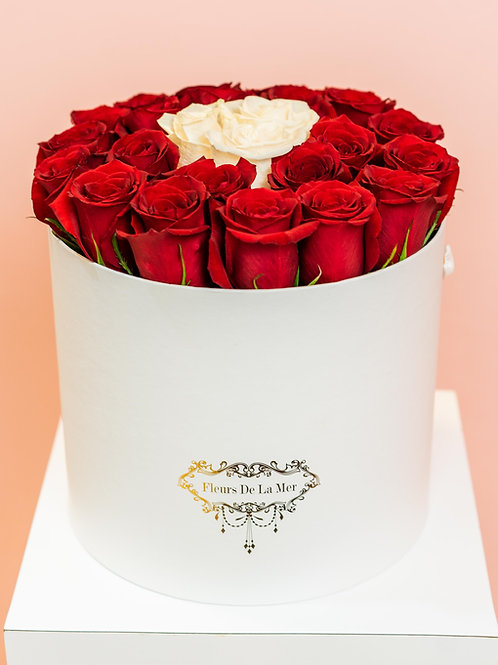 Red Roses (White Box)