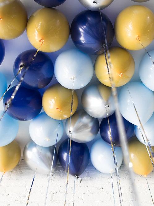 Helium Ceiling Balloons - (Vintage Theme)
