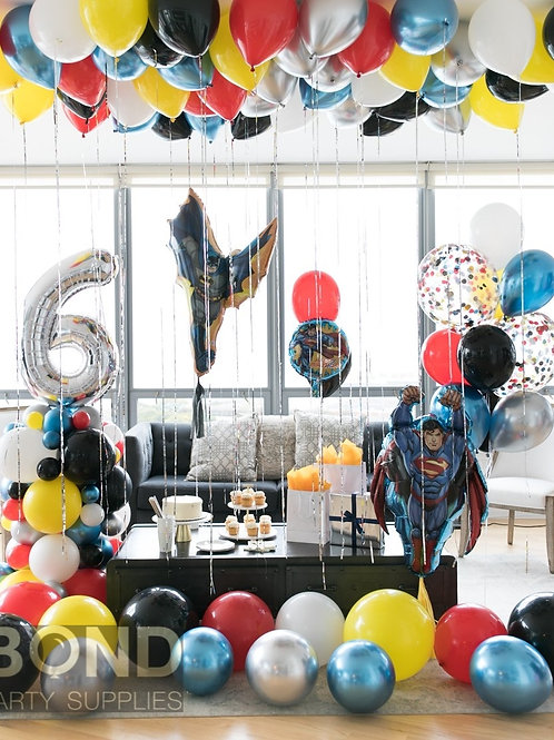 Superhero Birthday Surprise Decor -L