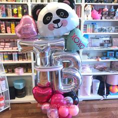 Panda Love Balloon Scultpure