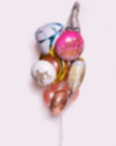 Bond Party Supplies Balloon bouquet bunch
