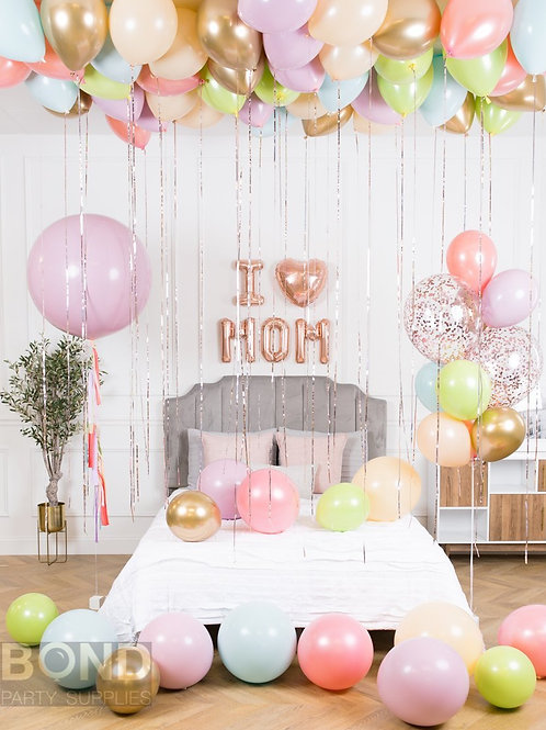 Room Balloon Decor For Mom -L