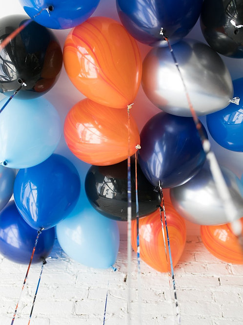 Helium Ceiling Balloons - (Space Theme)