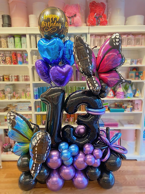 Monarch  Balloon Sculpture