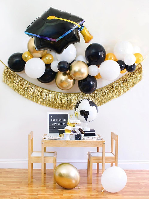 Graduation - Mini Balloon Garland