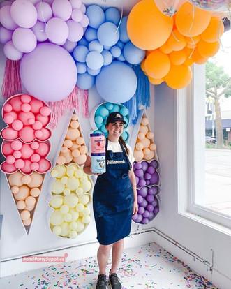 Balloon Mosaic Decor