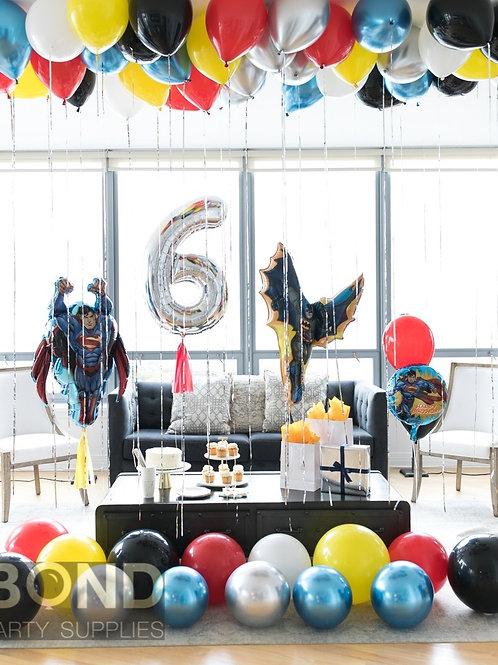 Superhero Birthday Surprise Decor -M
