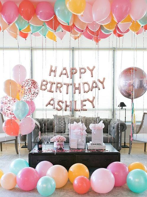 Birthday Surprise Setup -M2