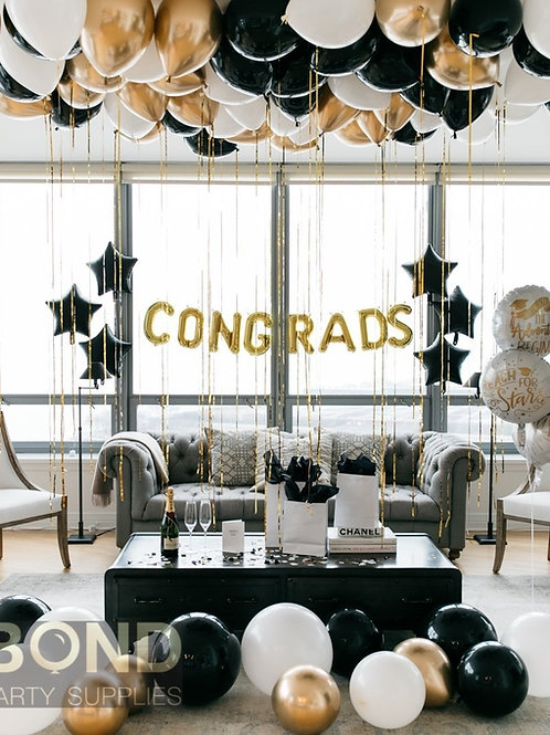 Congrats Balloon Decor -M