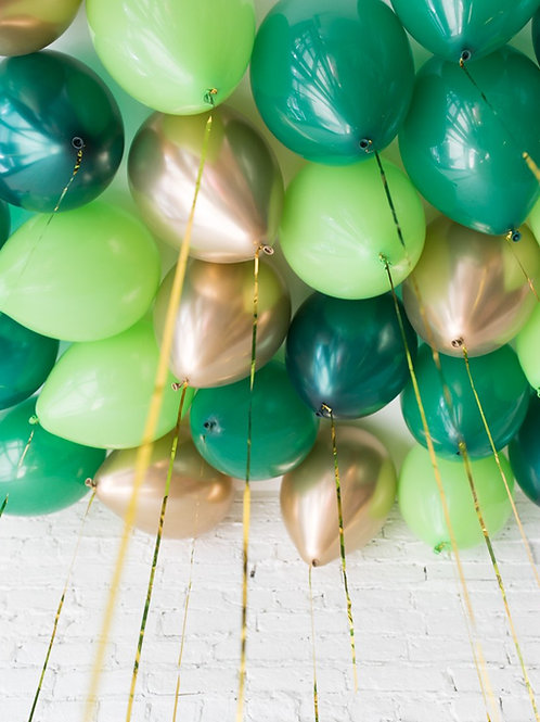 Jungle Rules Helium Ceiling Balloons