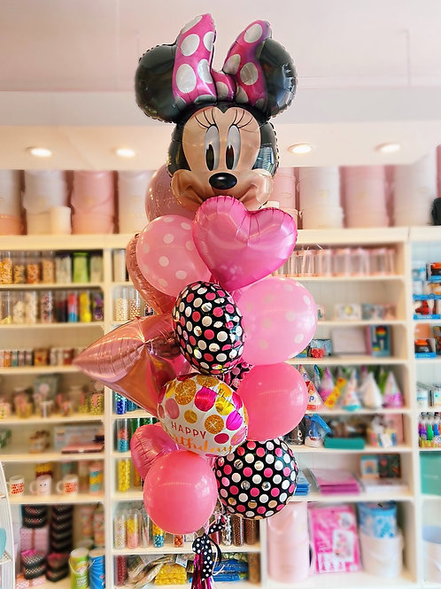 MINNIE - Birthday Balloon Bouquet