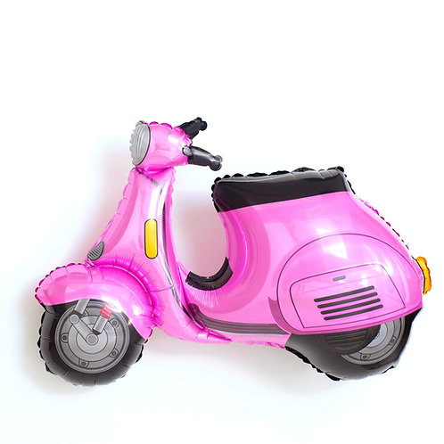 "Pink Scooter Balloon (32"")"