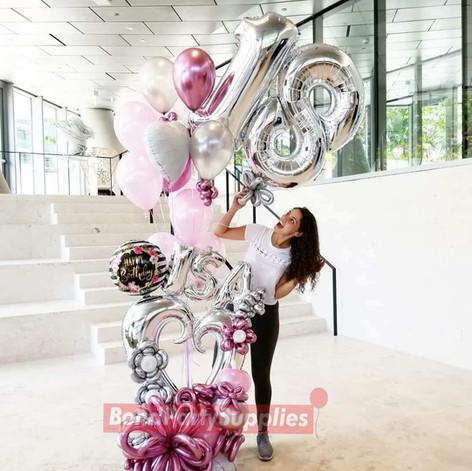 Girly Girl Balloon Scultpure