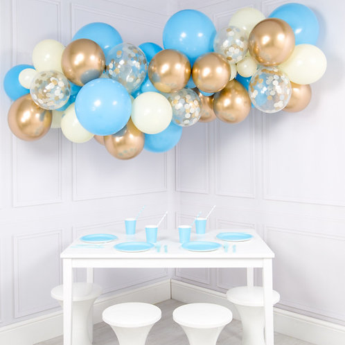 BabyBlue Mini Garland