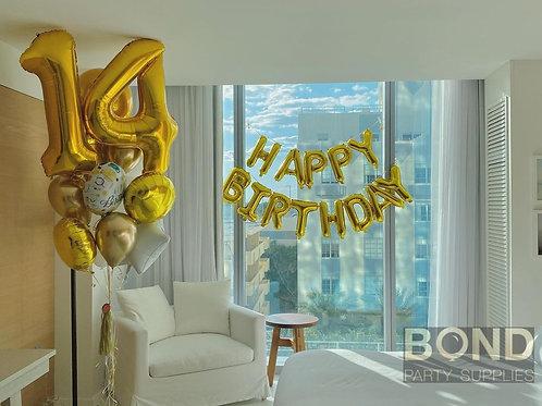 Birthday Bouquet + HB Banner