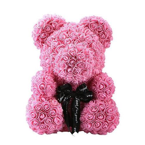 Pink Rose Bear (M)