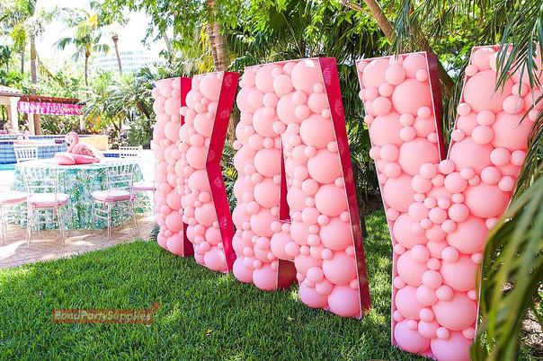 Letter Balloon Mosaics