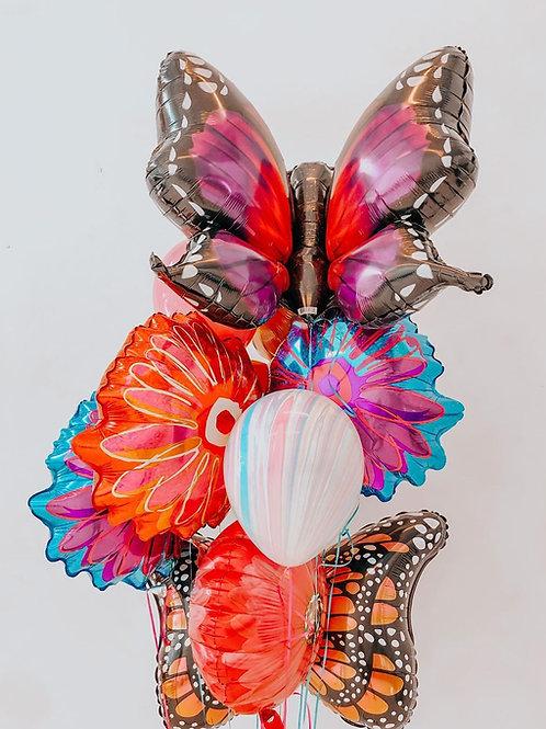 Monarch Balloon Bouquet