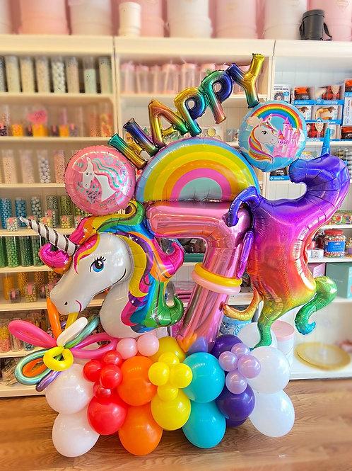 Bond Signature Sculpture - Unicorn Birthday