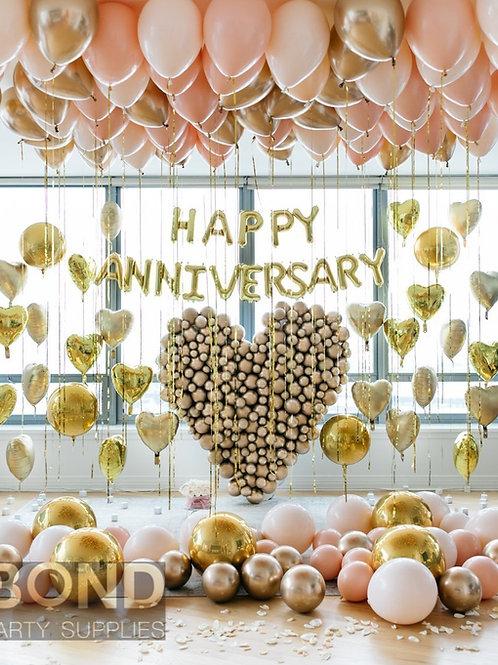 Anniversary Balloon Decor -XL