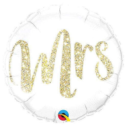 Mrs Gold Glitter