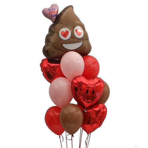Stinky Love Balloon Bouquet