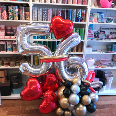 Balloon Sculpture with Love
