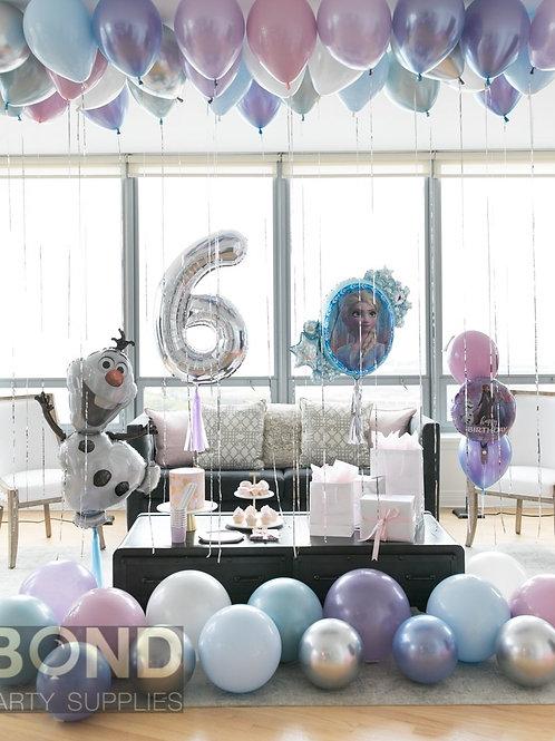 Frozen Birthday Surprise Decor -M