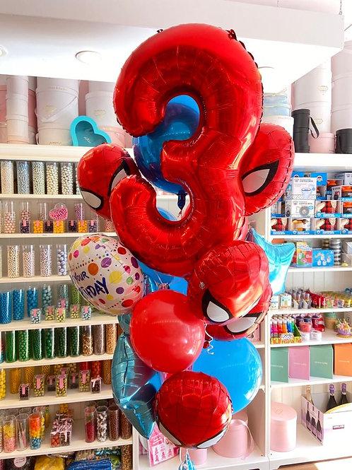 """""""Spiderman Spidermaan""""  Birthday Bouquet"""