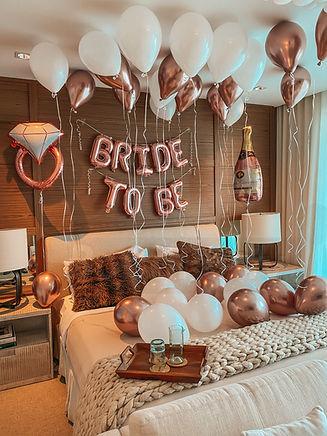 Bridal party balloon Decoration