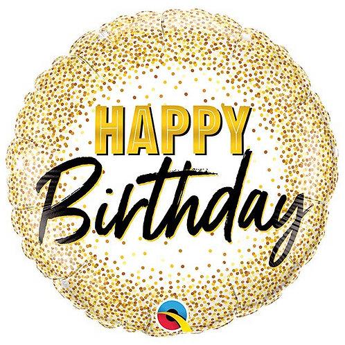 Gold Dot Birthday