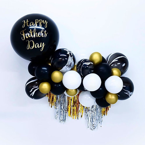 Fathers Day- Mini Balloon Garland
