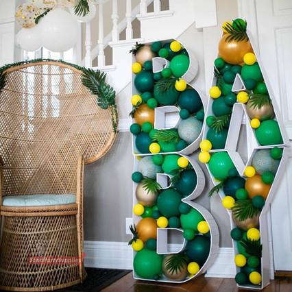 Tropical Balloon Mosaics